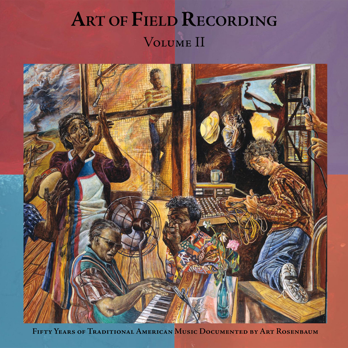 """Art of Field Recording, Vol. II: 50 Years of Traditional American Music Documented by Art Bosenbaum  Release Date: January 06, 2009 Label: Dust-to-Digital  SERVICE: Restoration, Mastering SOURCE MATERIAL: 1/4"""" Tape, DAT NUMBER OF DISCS: 4 GENRE: Gospel, Blues, Country FORMAT: CD"""