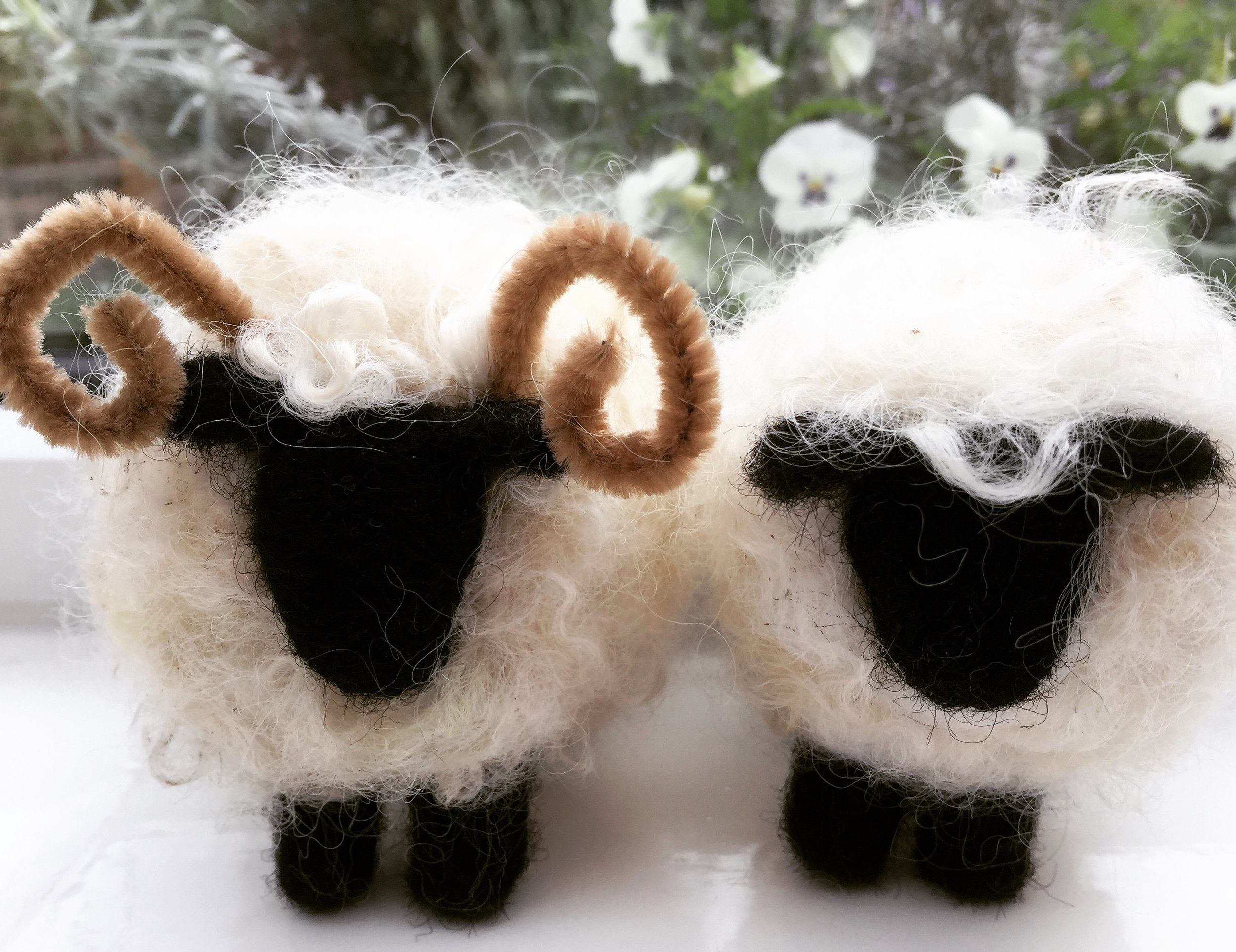 Sheep & cattle : standing, lying down, sheep mobiles available too.