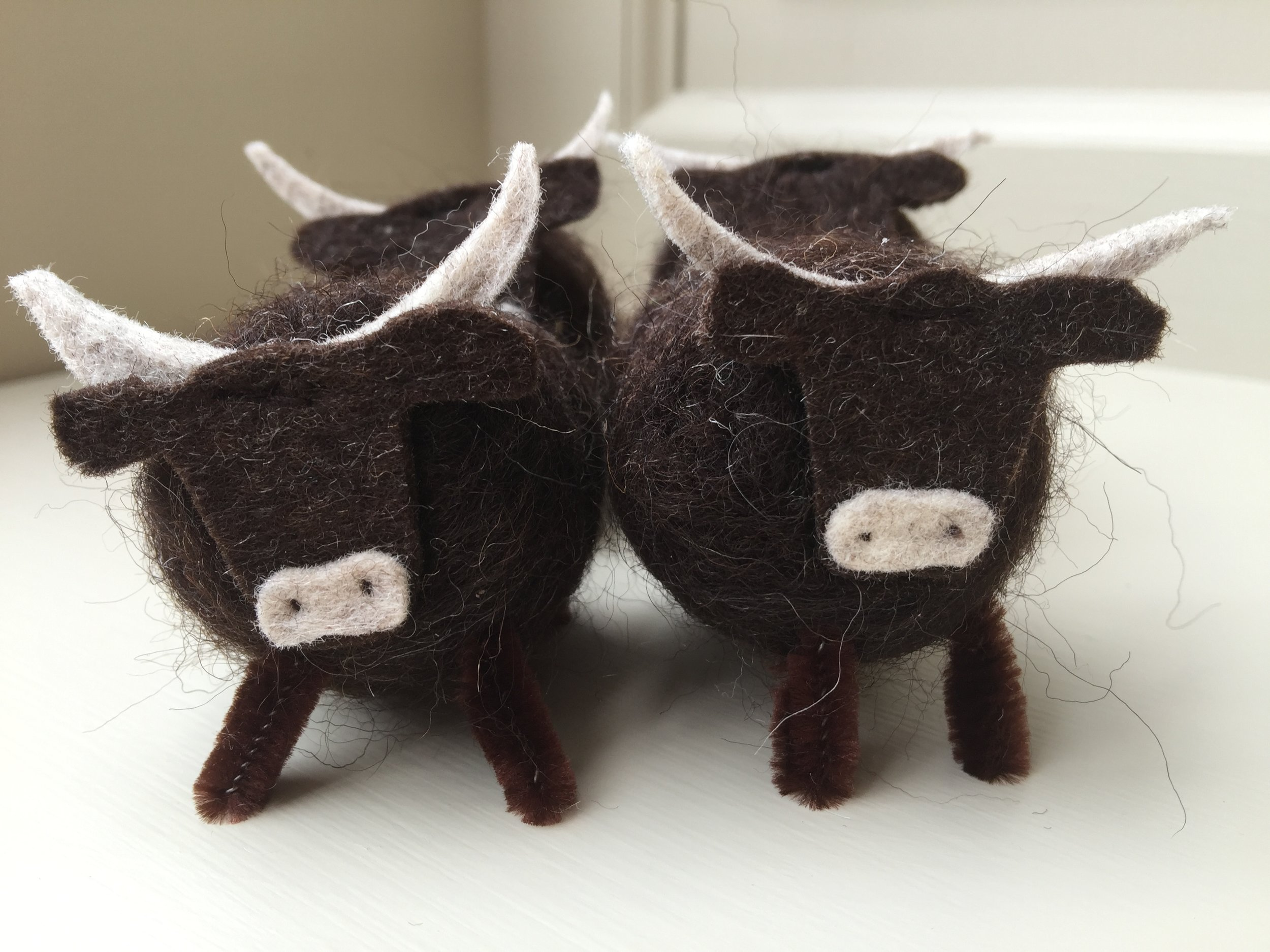 Farm animals :crafted in their simplest form to capture the characteristics of farm animals