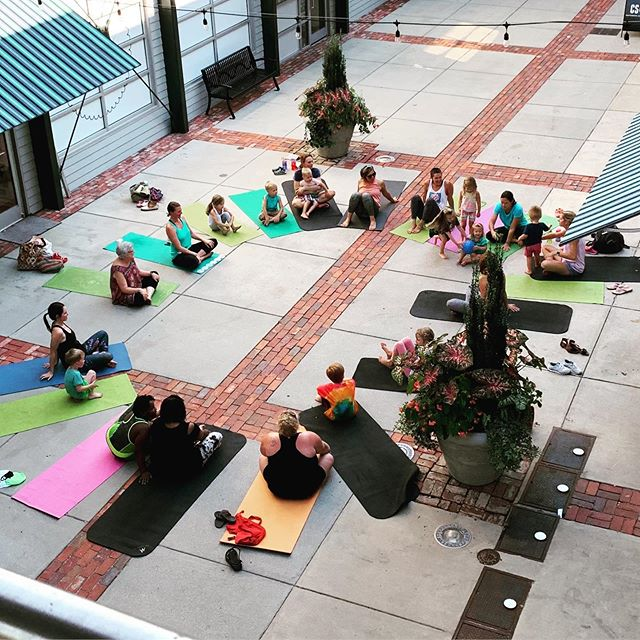Community is where our heart is! The young yogis of Chattanooga are the absolute best!