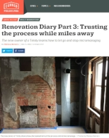 Curbed Philadelphia - Trinity Diary
