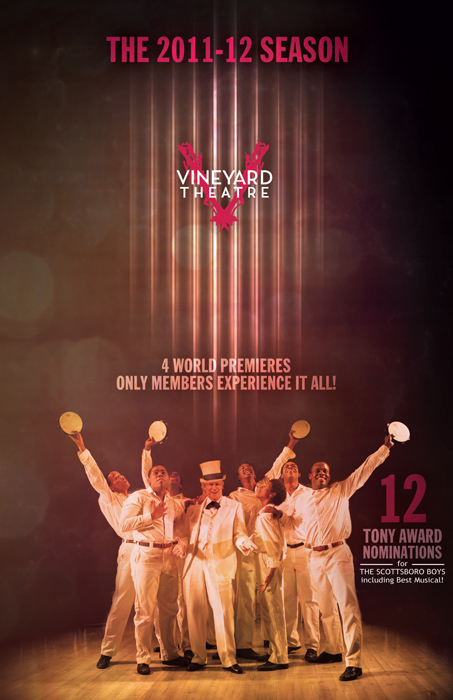 2011-12 Vineyard Theatre season brochure cover