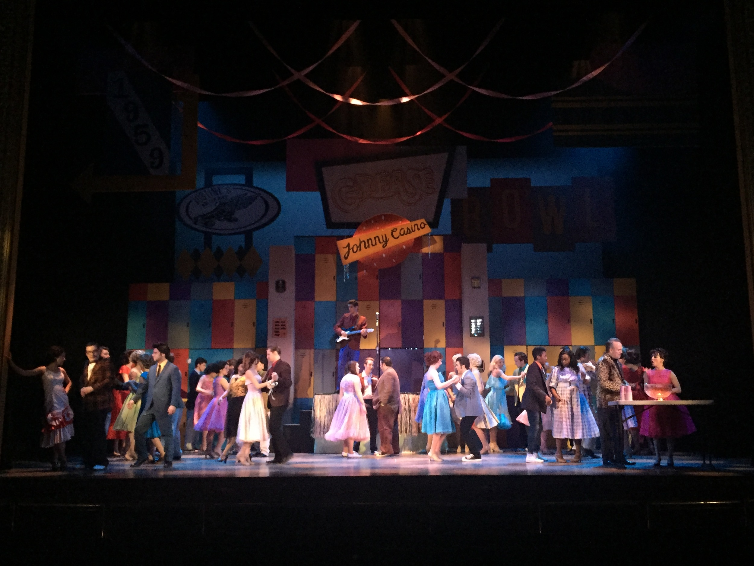 Grease-  Pittsburgh Musical Theater  Directed by Trey Compton; Scenic Design- Jeffrey Perri