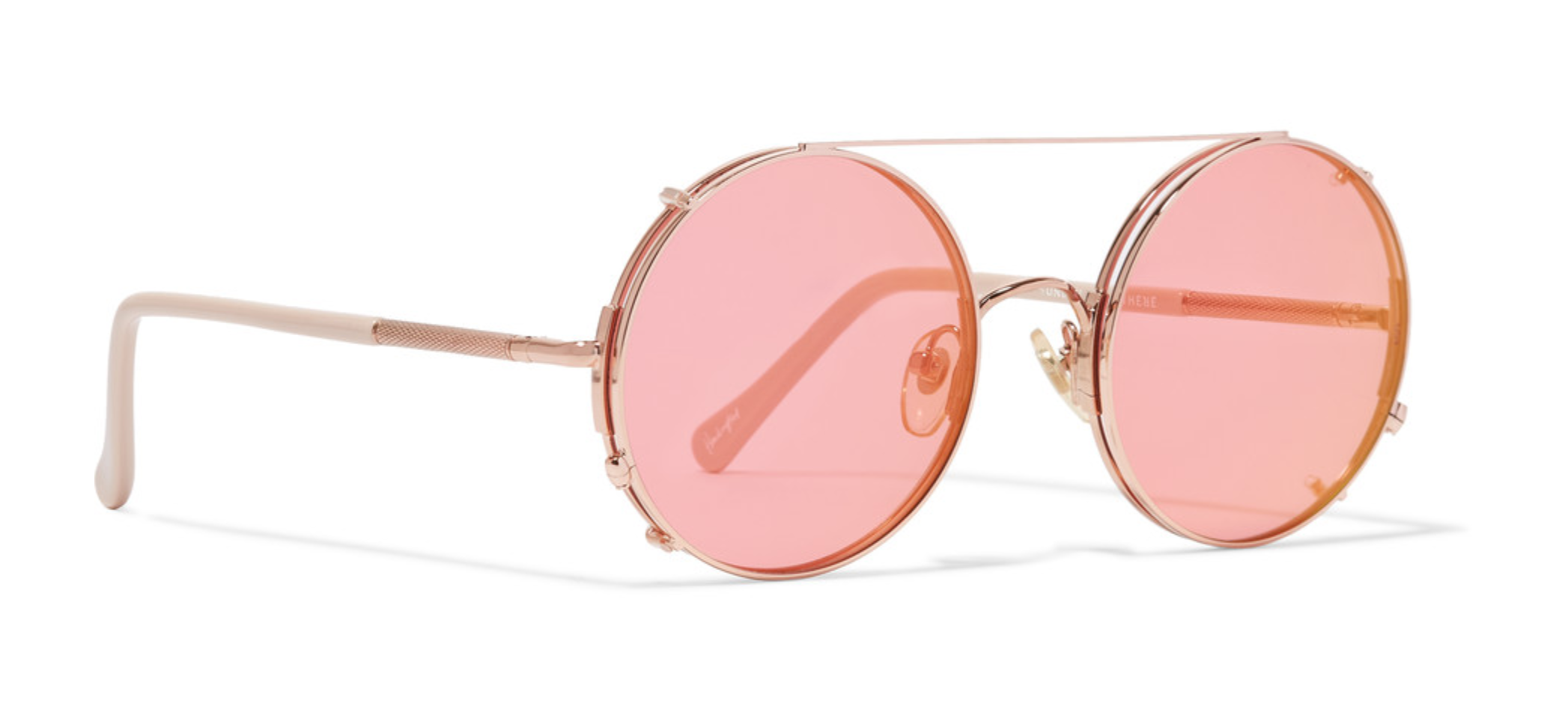 Sunday Somewhere,Valentine Sunglasses    I first saw about this brand on Harper's Bazaar, now I see the world through rose-colored glasses.