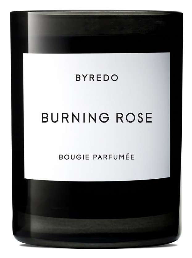 Byre  do,Burning Rose Candle    Perfect for a cozy night in.