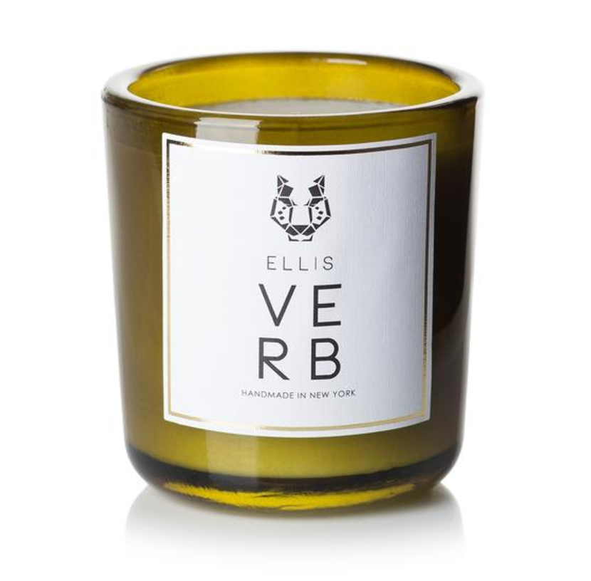 Ellis Brooklyn - Verb Candle $60.00  Verb's Hemingway inspired notes will fill your holiday season with remarkable olfactory memories.  Ellis Brooklyn marries the incredible paraben-free, phthalates-free creations of renowned perfumer Jerome Epinette with the artisanal, natural formulations crafted in small batches in upstate New York.