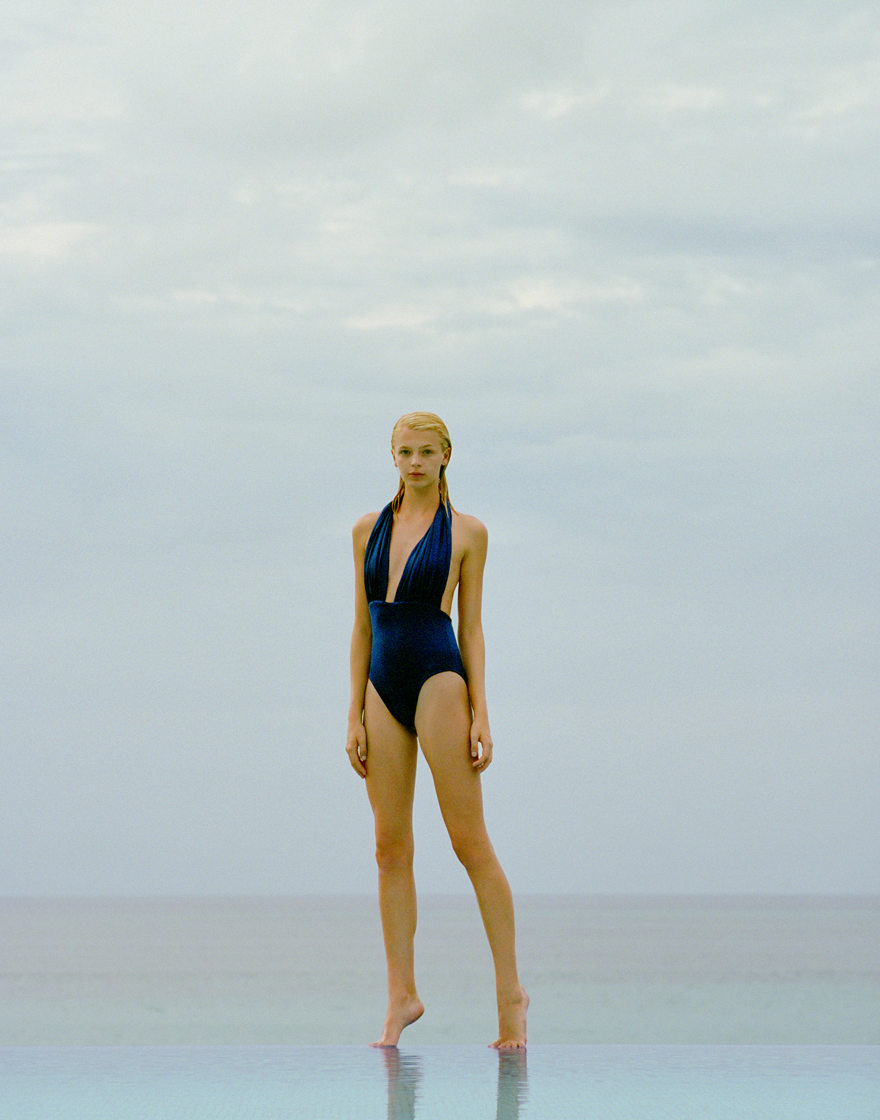 Navy Vitali One-Piece