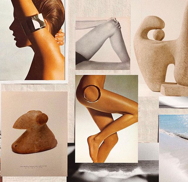 Love sharing with you our weekly inspiration. This week's mood board includes ancient birdstones and the photography of Alberto Rizzo and Ralph Gibson. #SCinspiration #SaraCristina