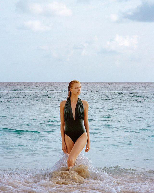 Dive in style. The Vitali One-Piece is made to enhance and sculpt the body. #SaraCristina Photographed by @conradoveliz