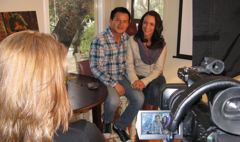 Hugo & Sadie in TX interview.JPG