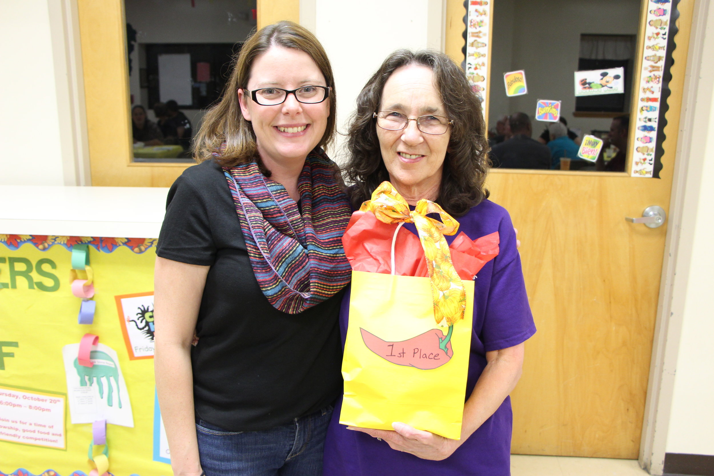 Congratulations to Mrs. Bateman for winning First Place!