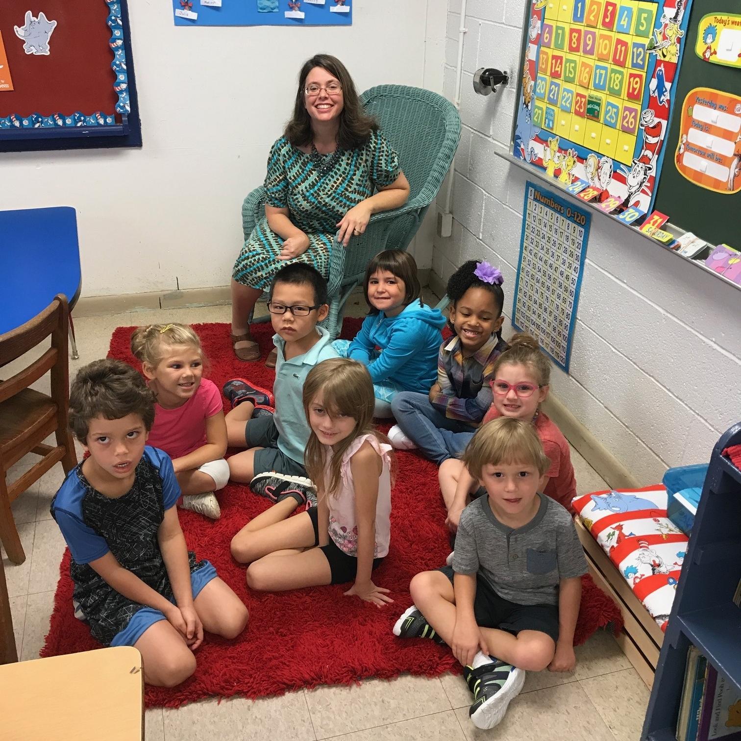 Kindergarten with Mrs. Pringle