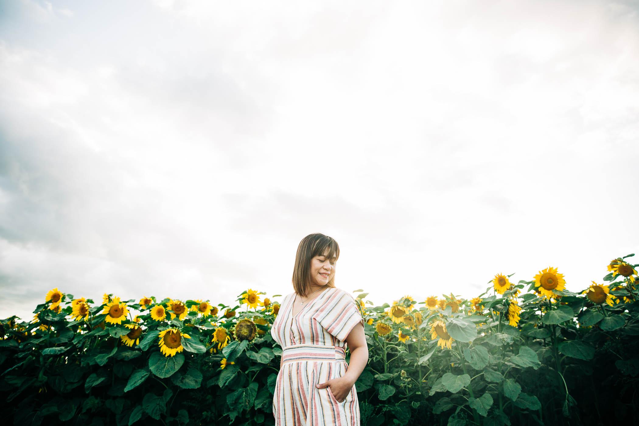 sunflower-photo-session-edmonton