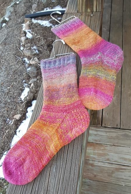 Possibly the most beautiful socks ever.