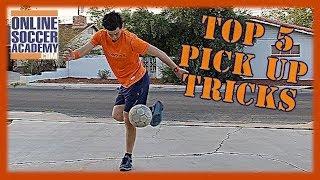 Top 5 Juggling Pick Up Tricks!