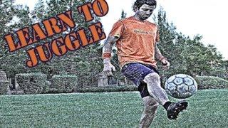 Juggling a Soccer Ball - 6 Key Points