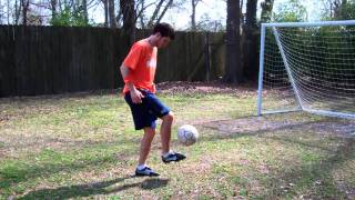 How to Juggle a Soccer Ball with your Feet Advanced