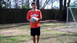 How to Juggle a Soccer Ball with your Thighs