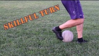 Stylish Soccer Move to Turn a Defender