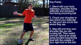 How to turn a Defender and Shoot