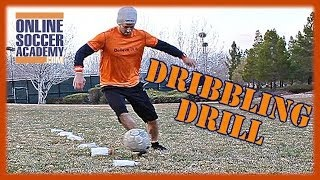New Soccer Drill to Improve Dribbling and Cardio