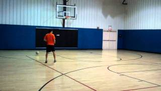 Soccer Speed of Play Exercise Off Two Walls