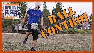 Control a Ball with your Thigh