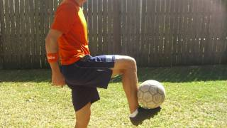 How to Control the Soccer Ball out of the Air