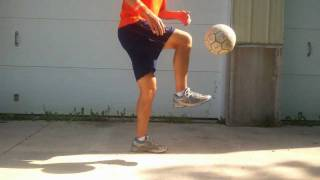 How to Catch a Soccer Ball on your Foot