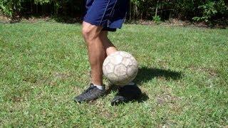 Around Plant Leg Bounce Soccer Trick