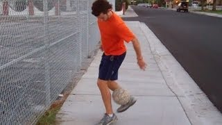 Fancy Juggling Pick Up Trick