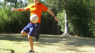 Jump Over Ball Pop Up Trick
