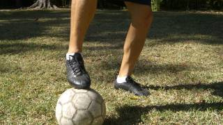 Drag Across Your Standing Foot Pick Up