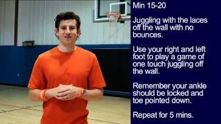 #18 Soccer Training Session