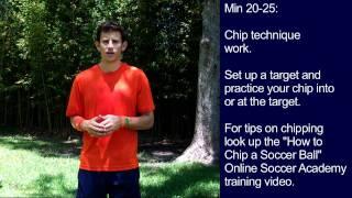 #9 Soccer Training Session