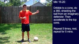 #8 Soccer Training Session