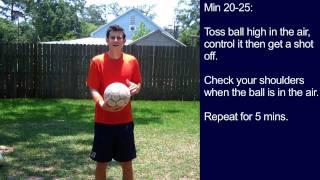 #7 Soccer Training Session