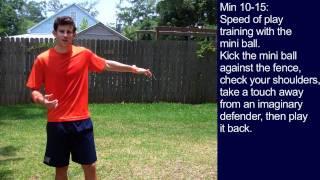 #6 Soccer Training Session
