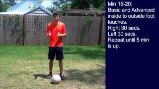 #5 Soccer Training Session