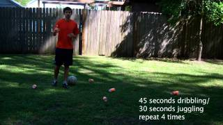 #1 Soccer Training Session