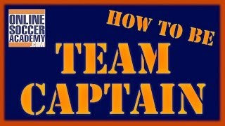 What Makes a Great Team Captain?