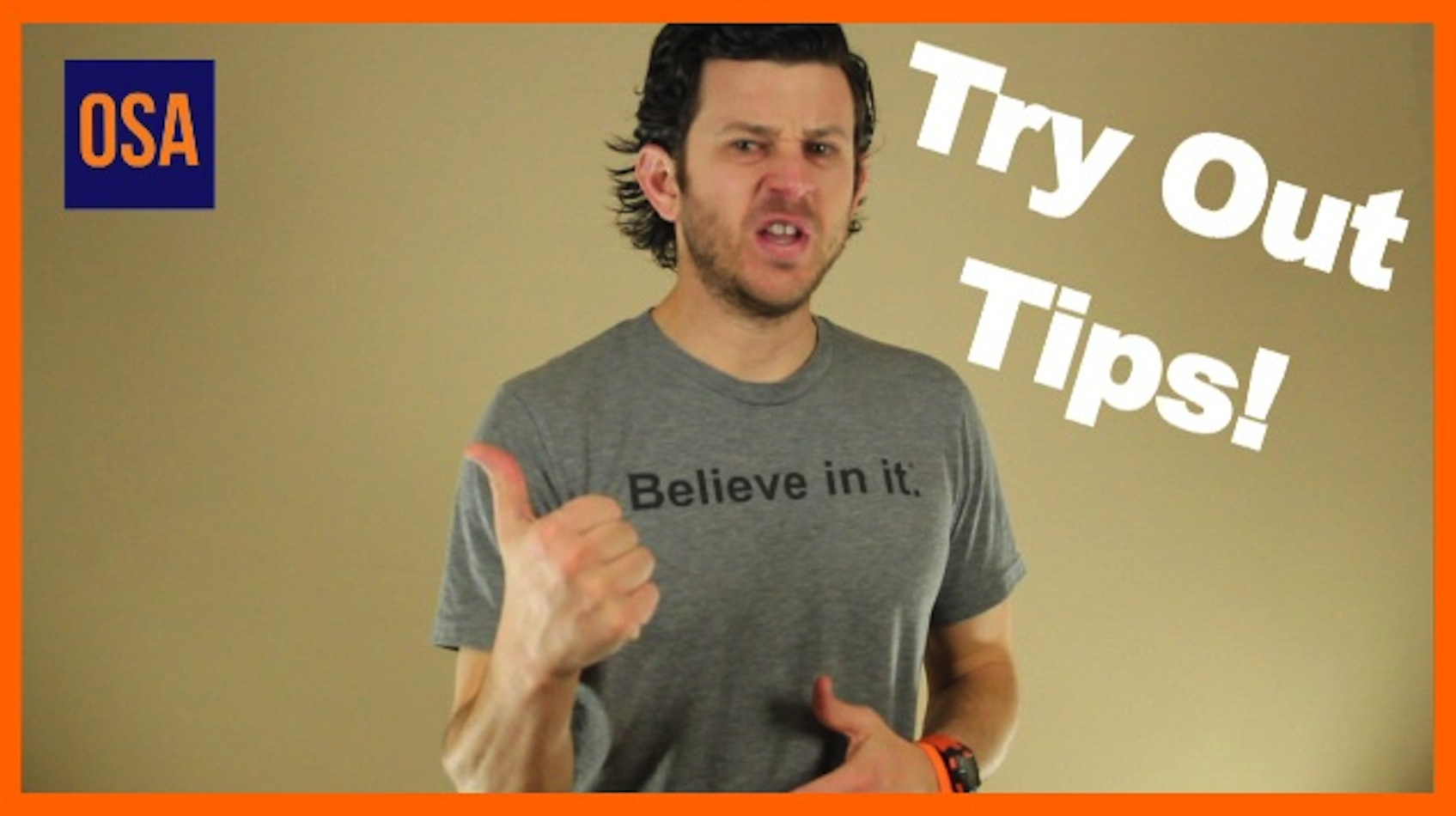 Soccer Tryout Advice