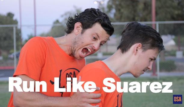 How To Make a Forward Run Like Suarez
