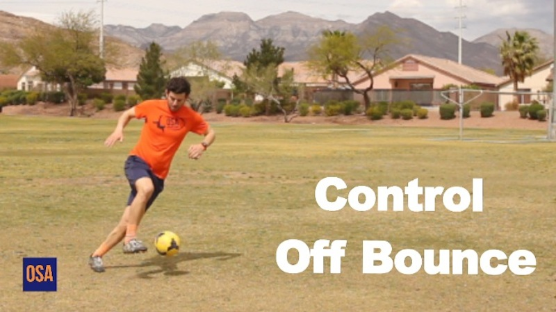 How To Control a Ball Out of The Air Off the Bounce
