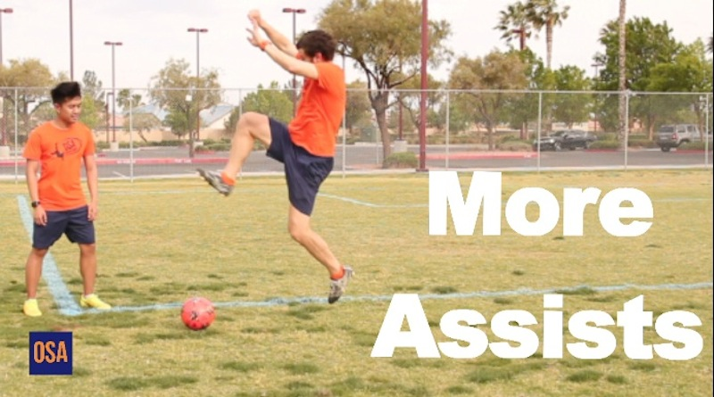 How To Get More Assists in Soccer