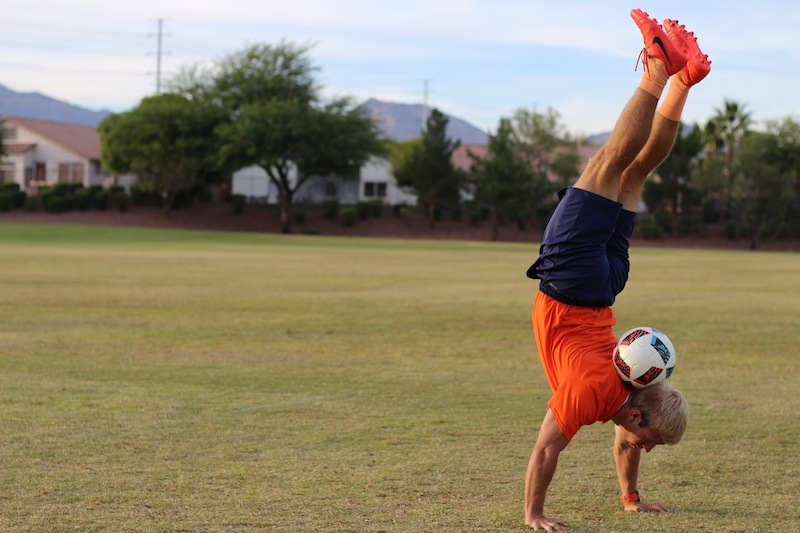 How To Do a Neck Stall Handstand