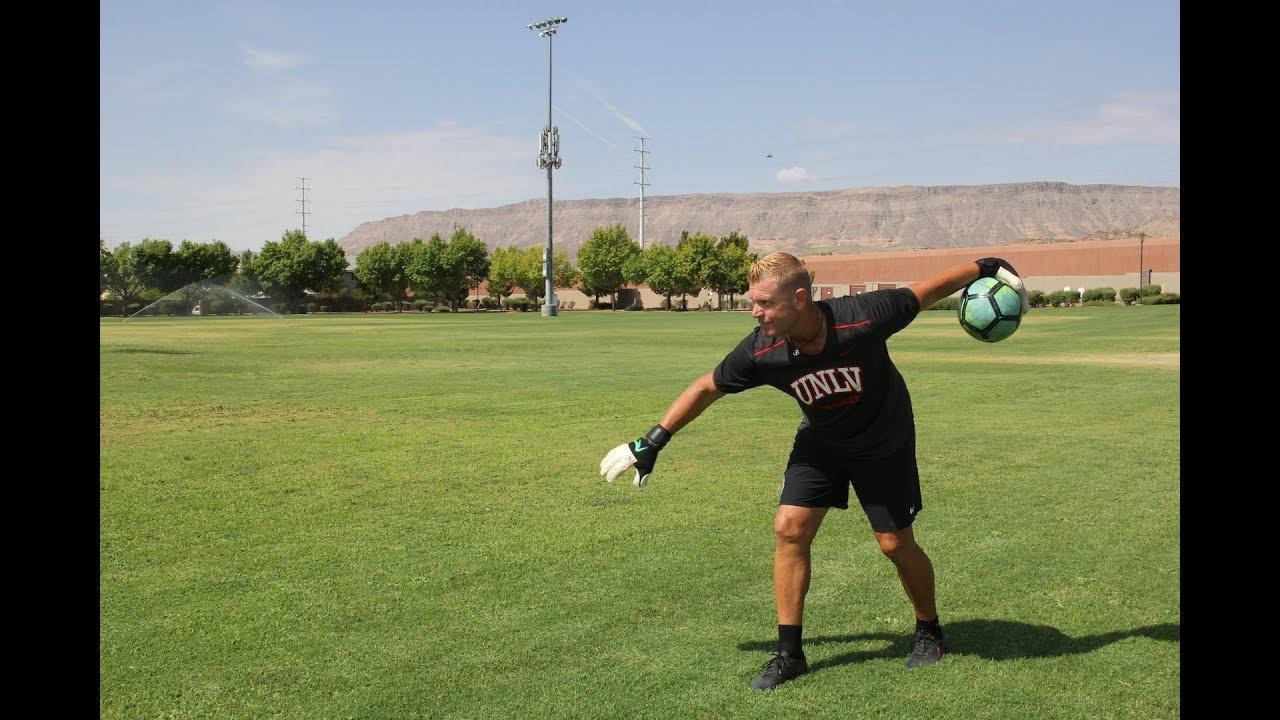How To Play Goalie - Beginner Goalkeeper Training - GK Bowling 10