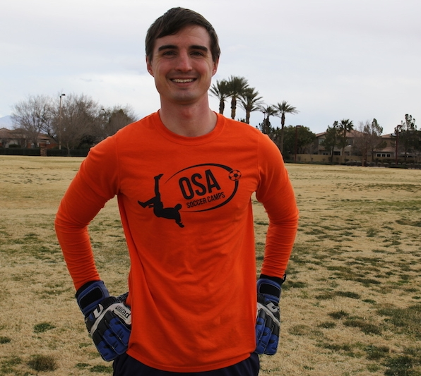 PJ Steiner - Former college goalie, youth coach and OSA Coach