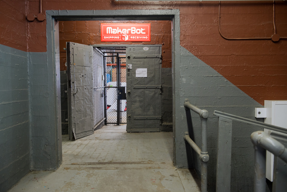 Shipping/Receiving floor entrance