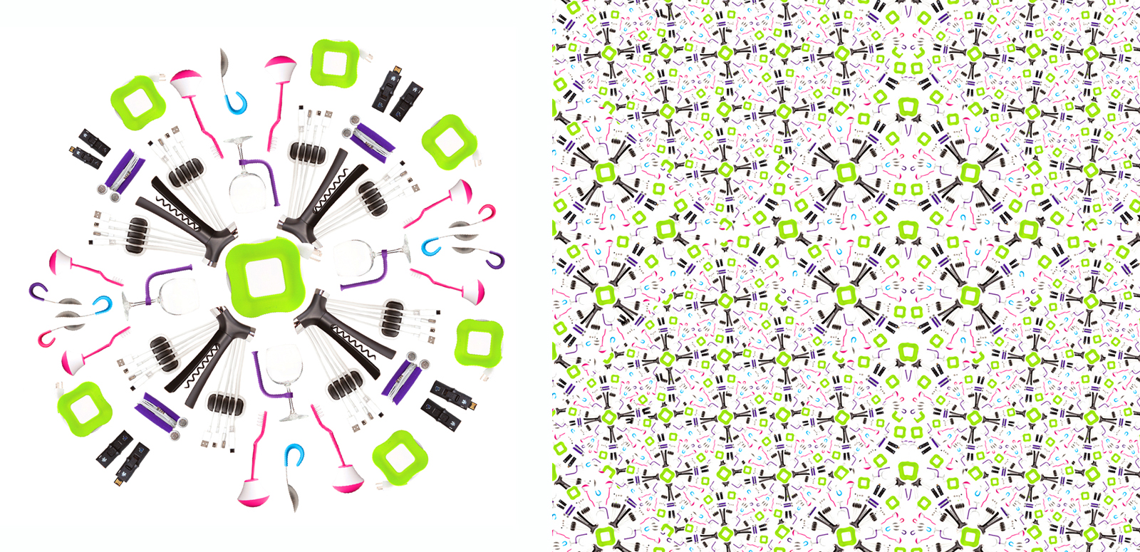 Art direction and asset creation,spring patterns